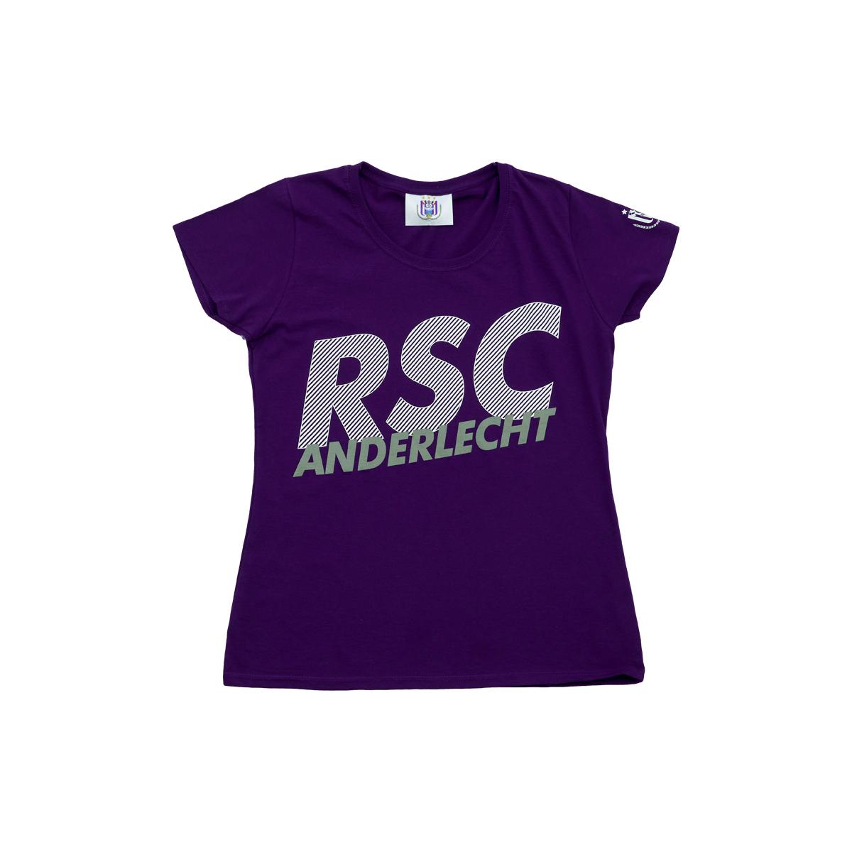 T-Shirt Women RSC Anderlecht Slanted