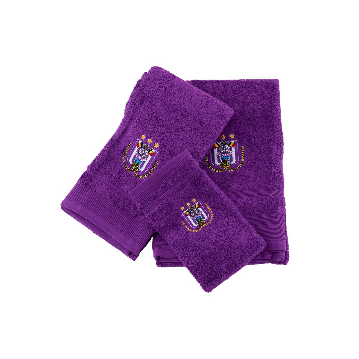 Handdoekenset - Paars