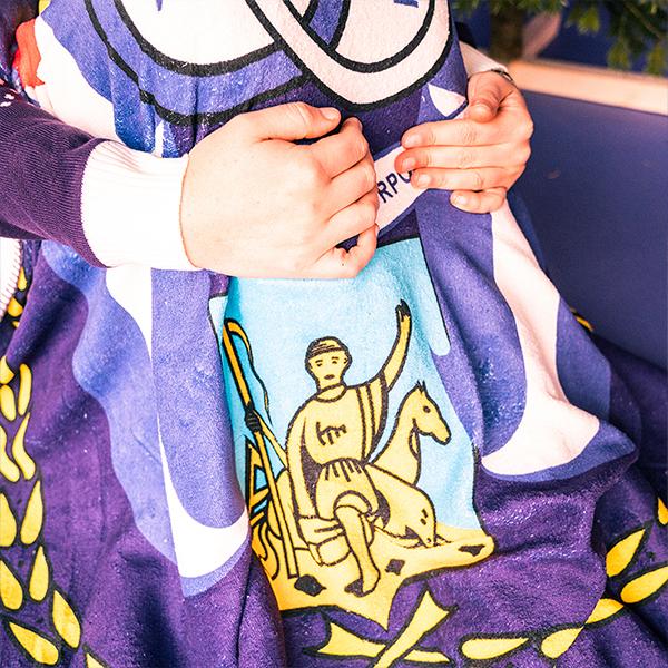 Fleece deken - Logo