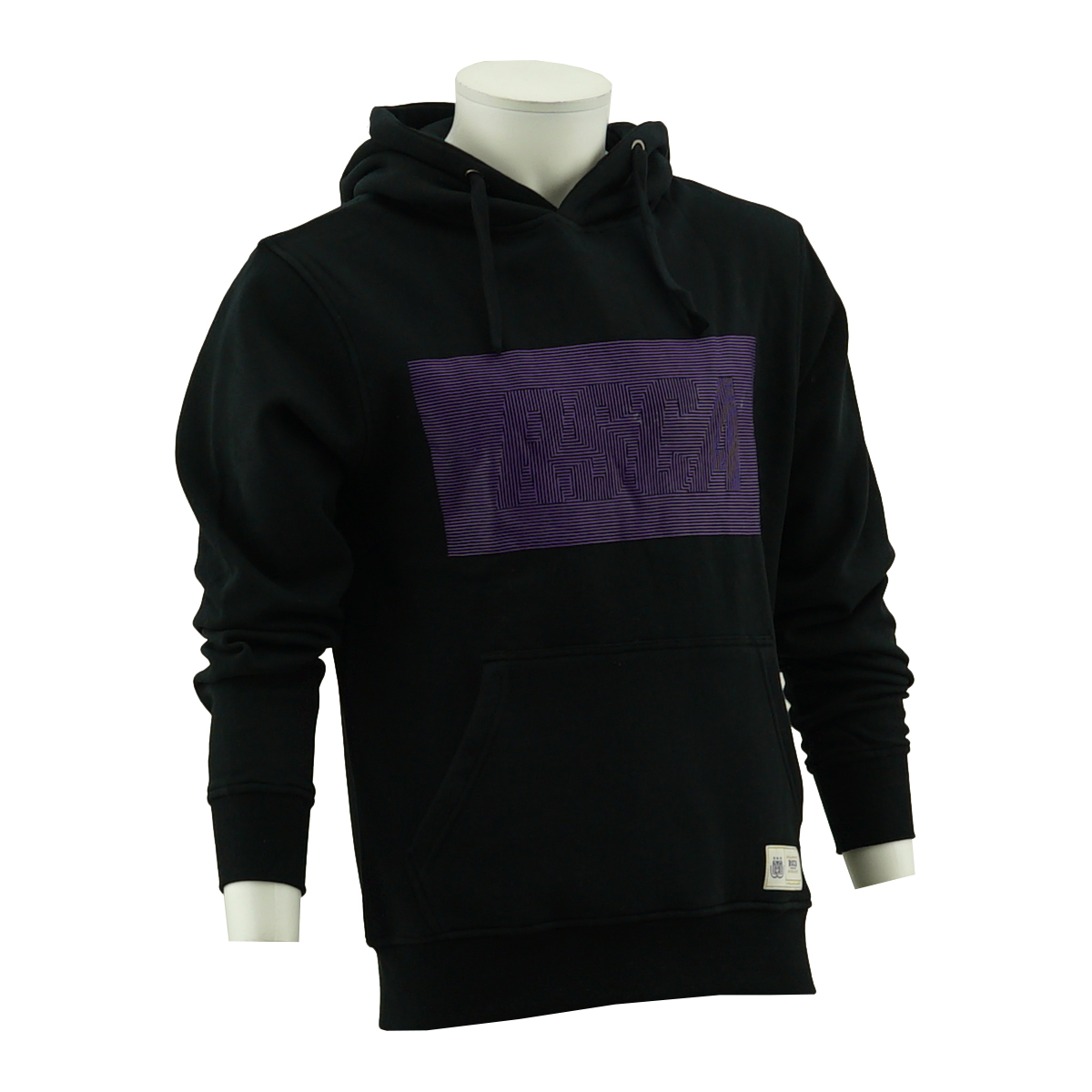 RSCA Sweater Met Kap Heren Dual Level Print