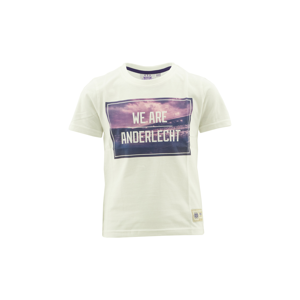 T-Shirt Kids Picture We Are Anderlecht