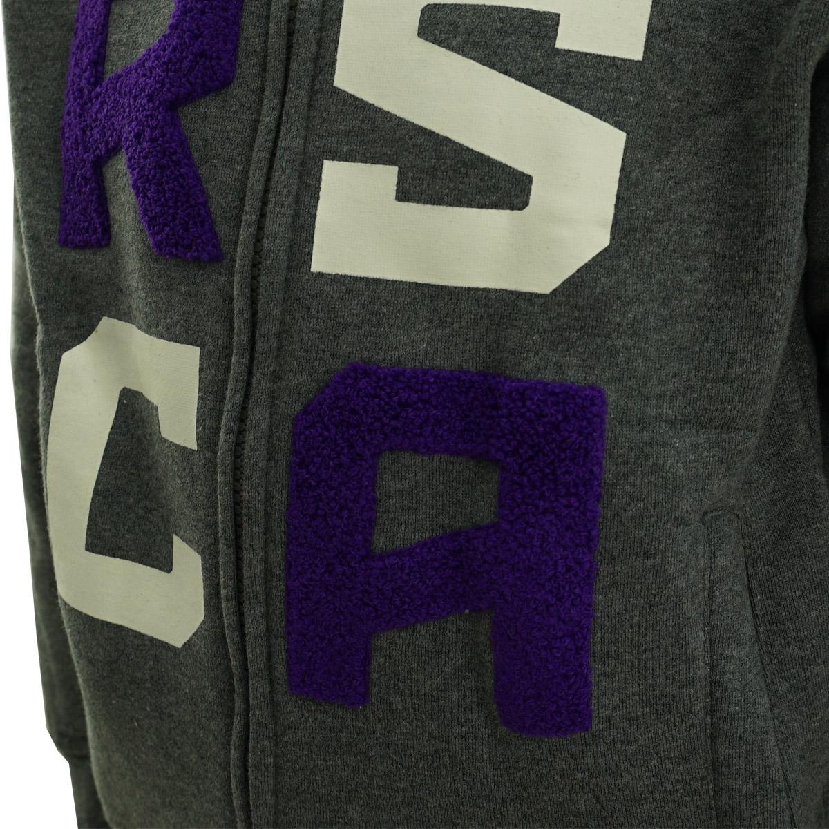 RSCA Sweatvest Met Kap Kids Terry Letters