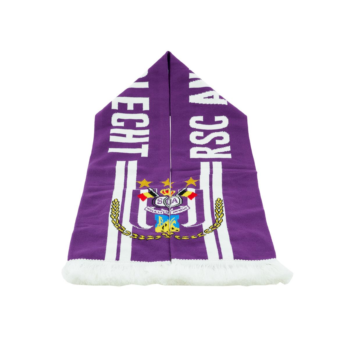 Sjaal RSC Anderlecht Strepen