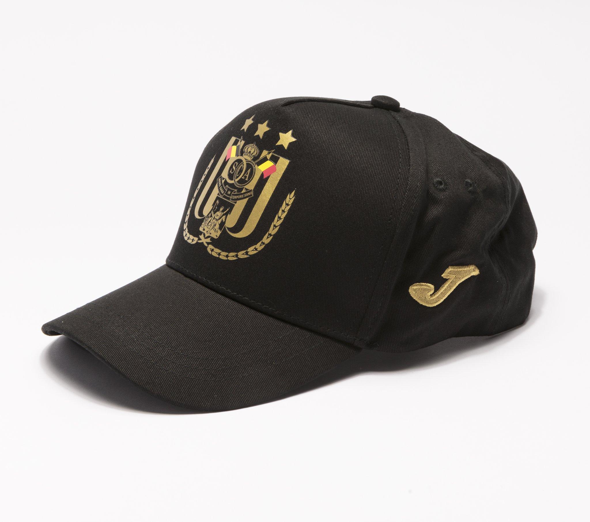 RSCA Cap Joma Black/Gold