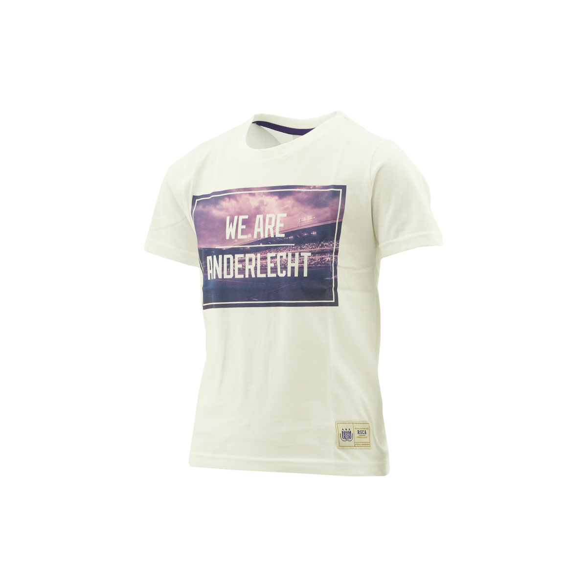 T-Shirt Kids Foto We Are Anderlecht