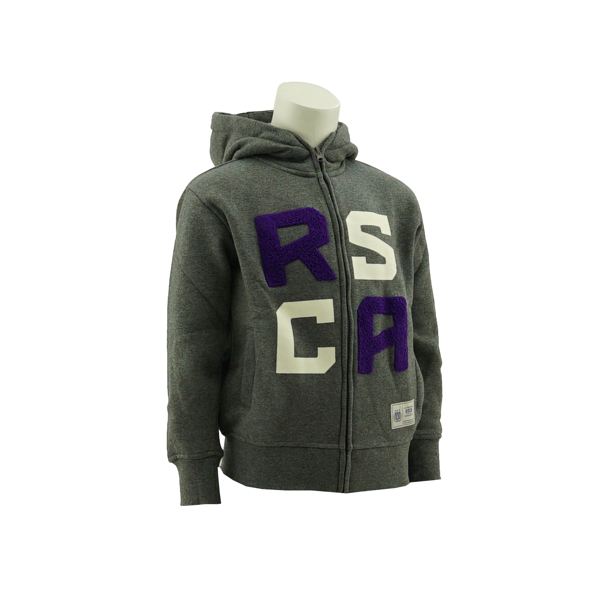 RSCA Hooded Sweatvest Kids Terry Letters