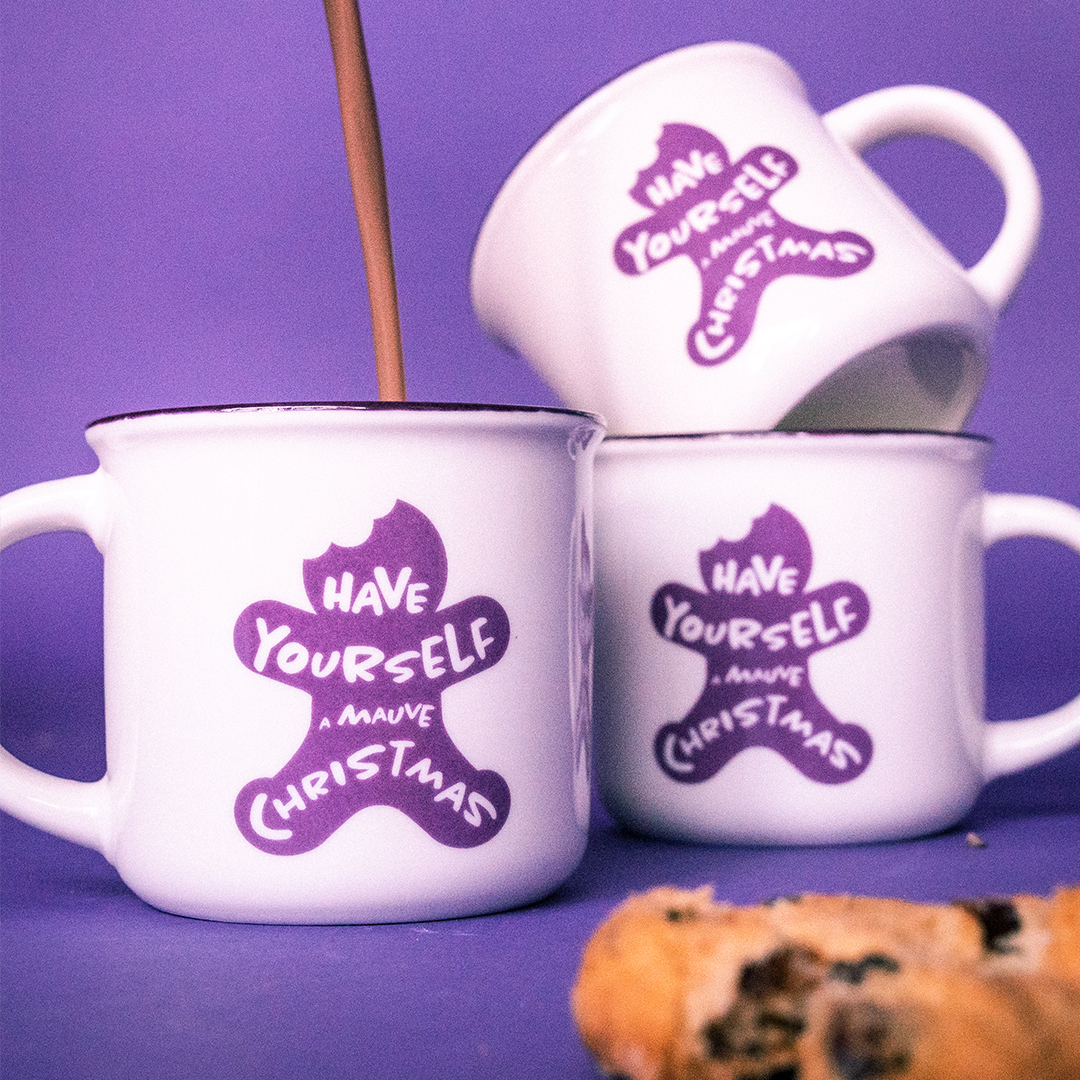 "Tasse ""Have Yourself A Mauve Christmas"""
