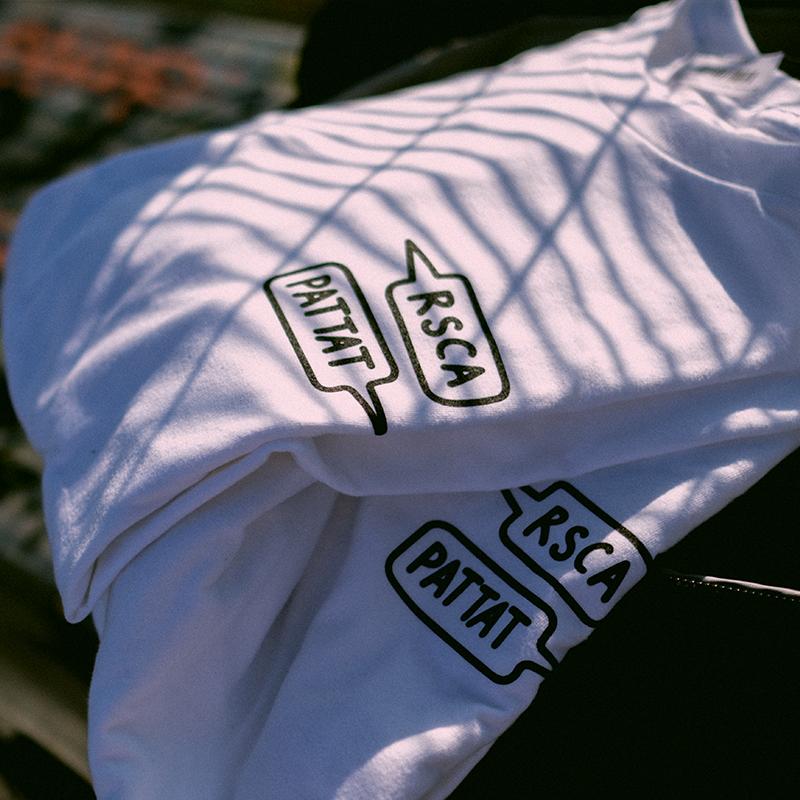 T-Shirt RSCA x Pattat - White