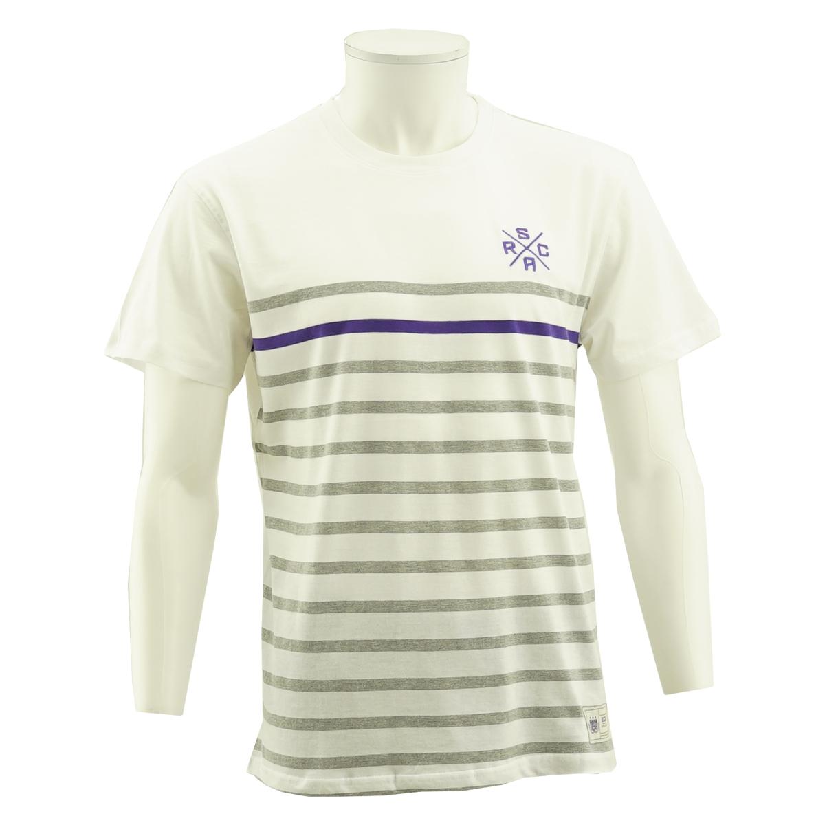 RSCA T-Shirt Heren Logo X Gestreept