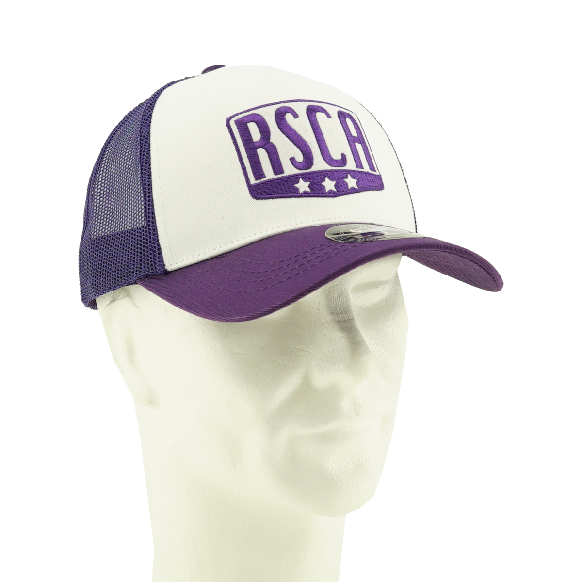 RSCA Trucker Pet 03 - Paars/Wit