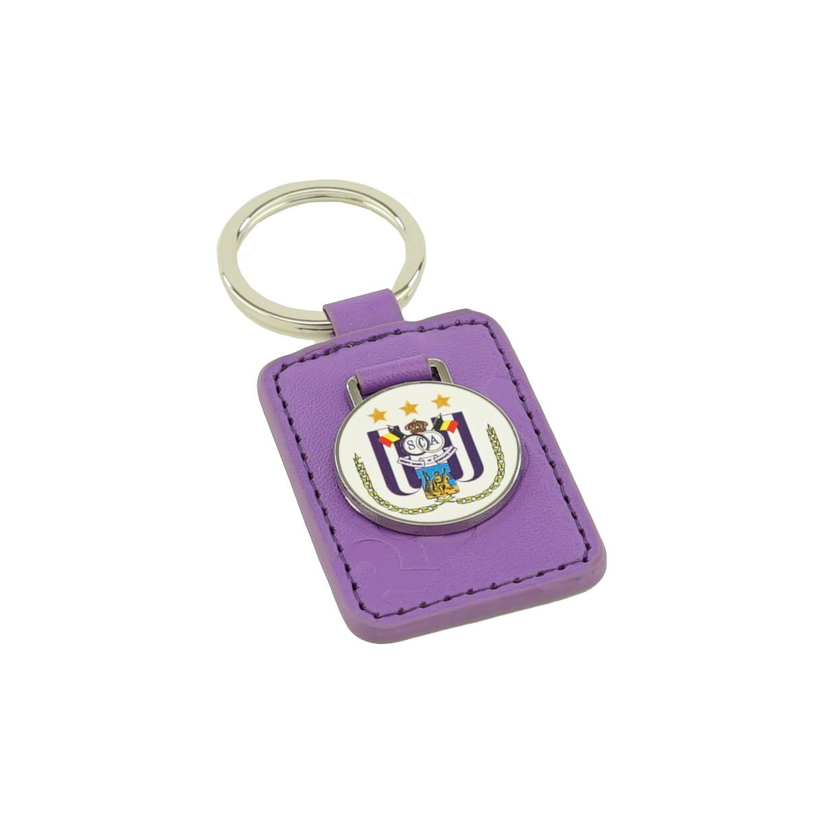 RSCA Keychain Leather