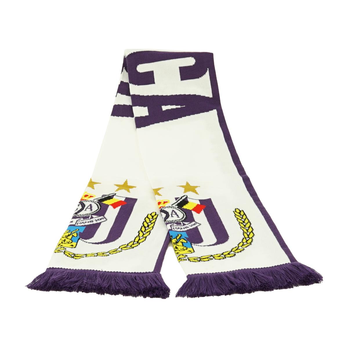 RSCA Sjaal Logo Groot - Wit
