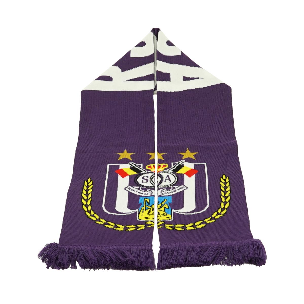 RSCA Sjaal Logo Groot - Paars