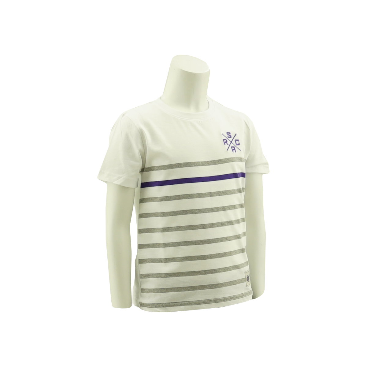 RSCA T-Shirt Kids Logo X Gestreept