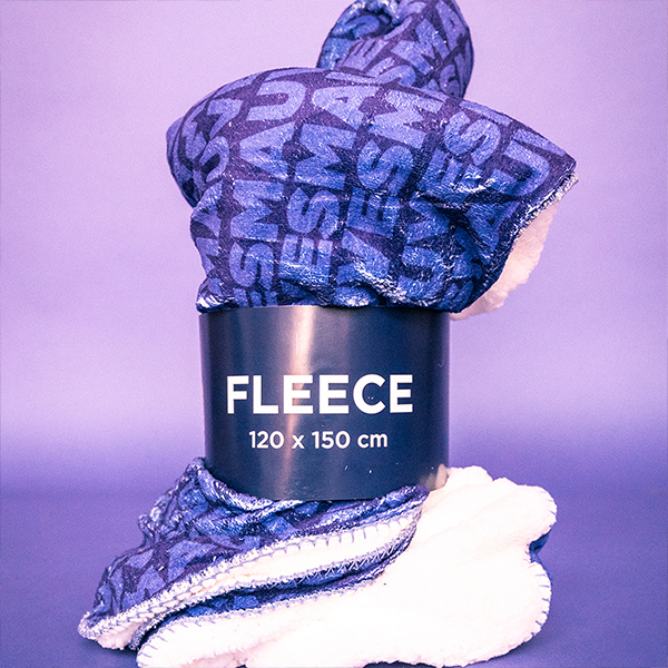 Fleece deken - Mauves Patroon