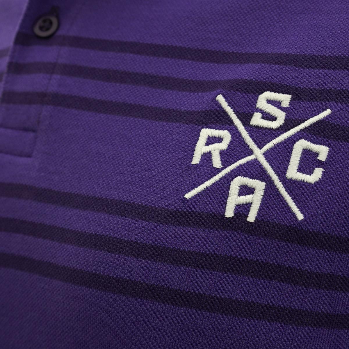 RSCA Polo Heren Pique Gestreept