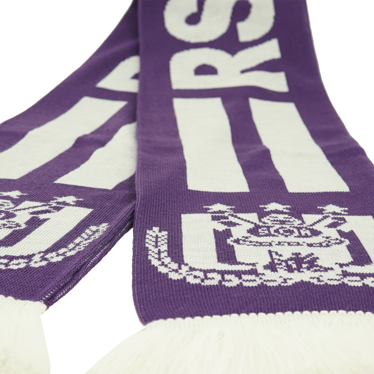 RSCA Sjaal Jacquard Paars Strepen