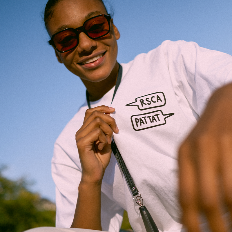 T-Shirt RSCA x Pattat - Wit