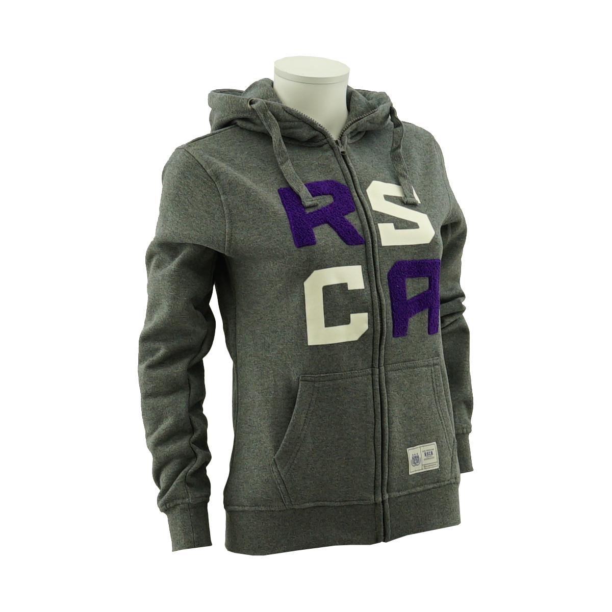 RSCA Hooded Sweatvest Women Terry Letters