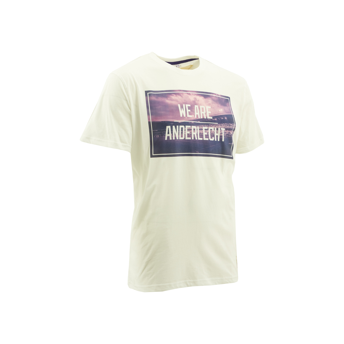 T-Shirt Heren Foto We Are Anderlecht