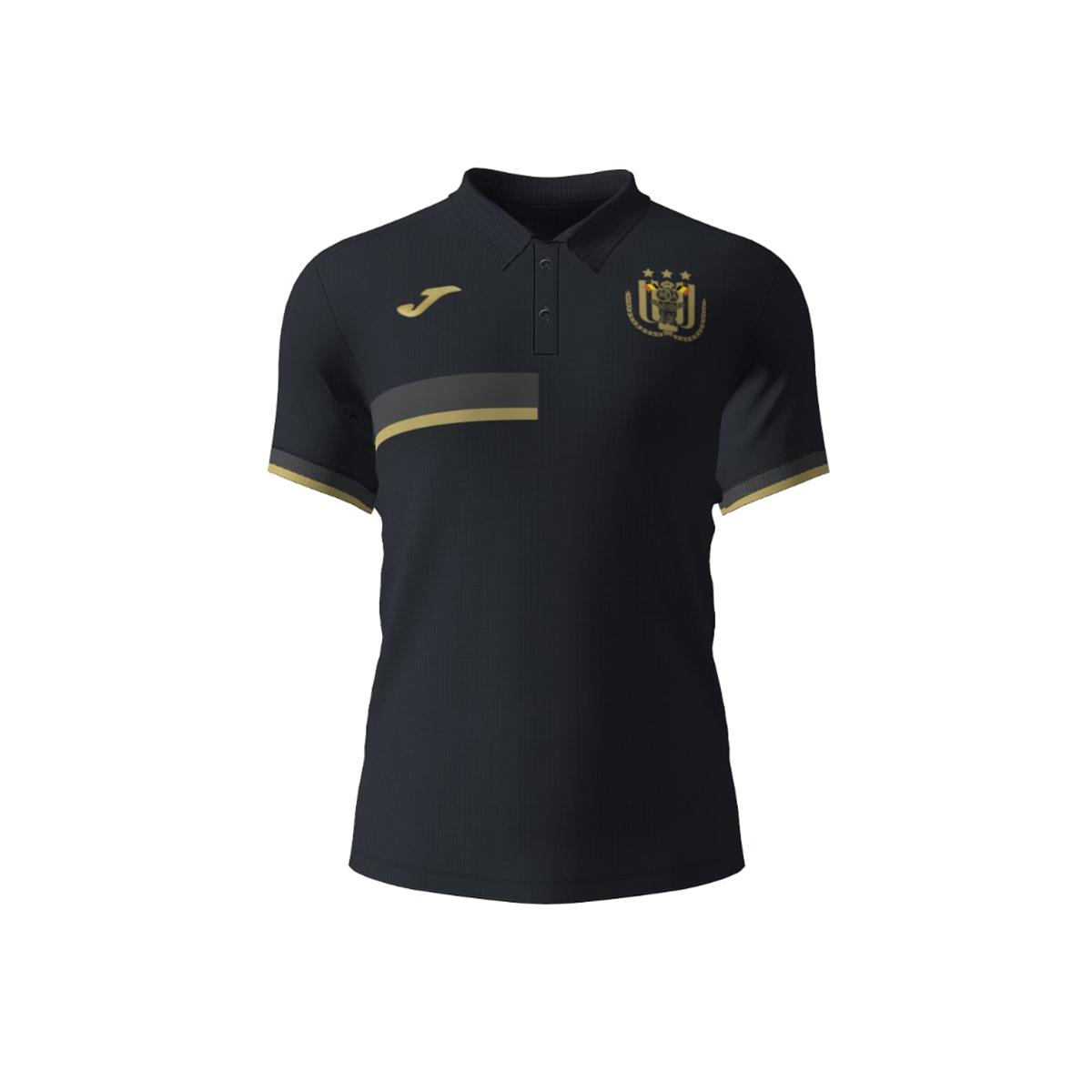 RSCA Polo Kids 2020/2021 - Zwart