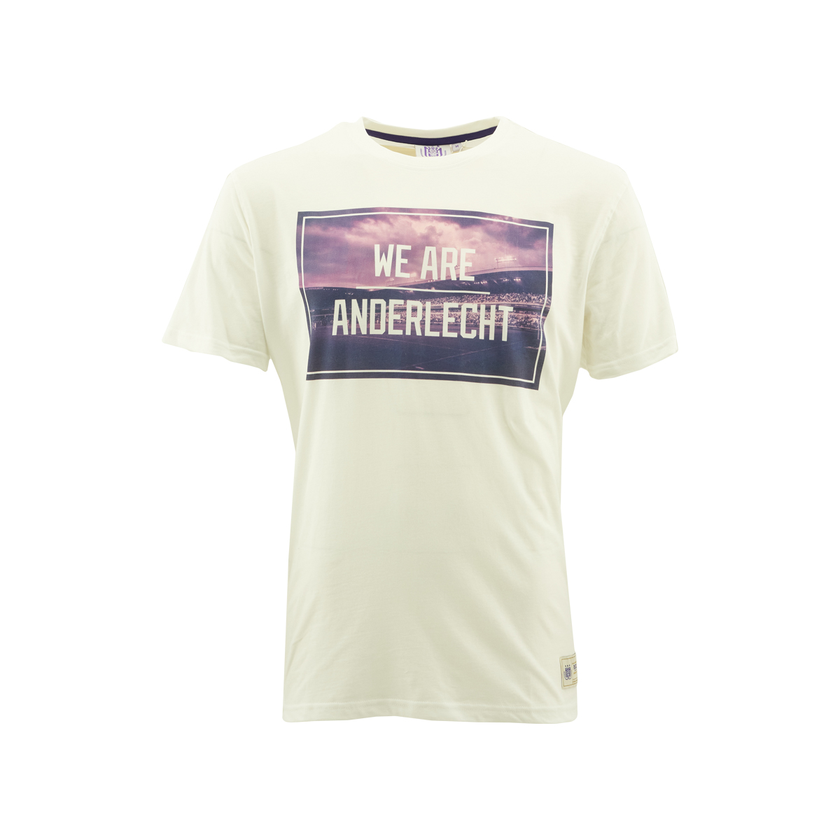 T-Shirt Heren Foto We Are Anderlecht