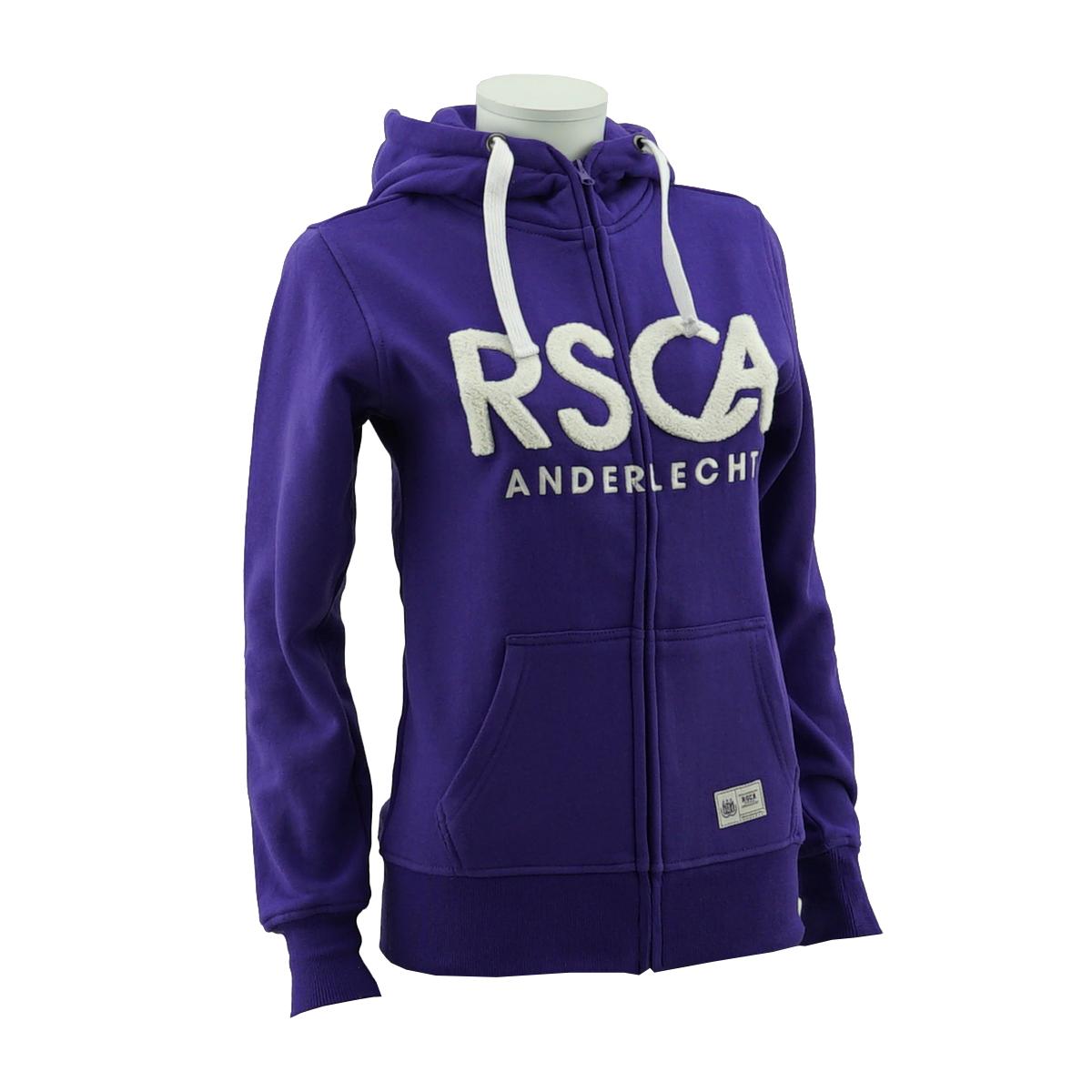 RSCA Sweatvest Met Kap Dames RSCA Anderlecht